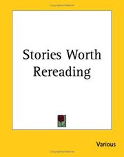 Cover of: Stories Worth Rereading