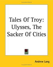 Cover of: Tales of Troy