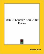 Cover of: Tam O' Shanter And Other Poems