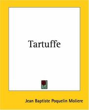 Cover of: Tartuffe | MoliГЁre
