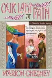 Cover of: Our lady of pain | Marion Chesney