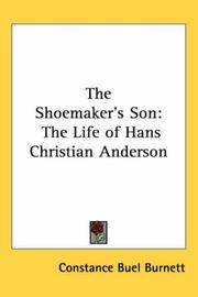 The shoemaker's son by Constance Buel Burnett