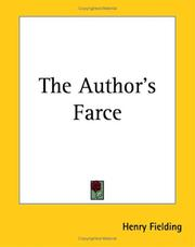 Cover of: The author's farce