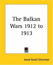 Cover of: The Balkan Wars 1912 To 1913