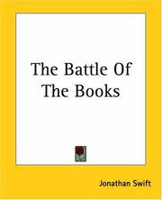 Cover of: The battle of the books