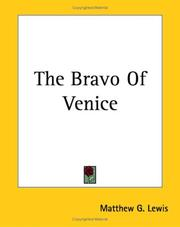 Cover of: The Bravo of Venice