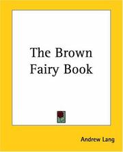 Cover of: The Brown Fairy Book | Andrew Lang