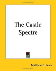 Cover of: The Castle Spectre