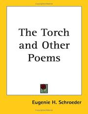 Cover of: The Torch And Other Poems