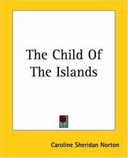 Cover of: The Child of the Islands: a poem