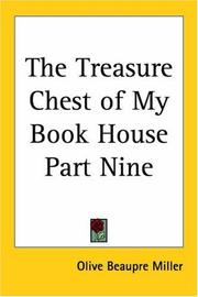 Cover of: The Treasure Chest of My Book House