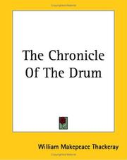 Cover of: The chronicle of the drum