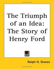 Cover of: The Triumph of an Idea