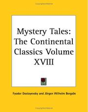 Cover of: Mystery Tales | Fyodor Dostoevsky