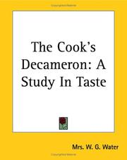 Cover of: The Cook