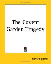Cover of: The Covent-Garden tragedy