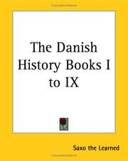 Cover of: The Danish History Books 1 to 9