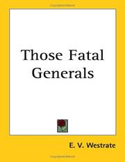 Those Fatal Generals