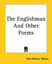 Cover of: The Englishman and other poems