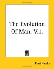 Cover of: The Evolution Of Man V1