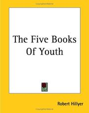 Cover of: The Five Books Of Youth | Robert Hillyer