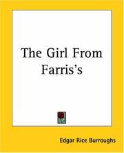 Cover of: The Girl From Farris's