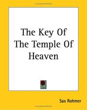Cover of: The Key Of The Temple Of Heaven