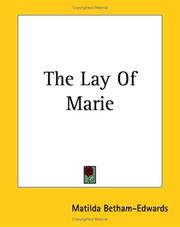 Cover of: The Lay Of Marie (N)