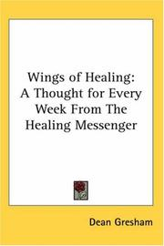 Cover of: Wings of Healing