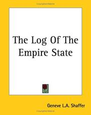 Cover of: The Log of the Empire State