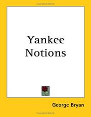 Cover of: Yankee Notions