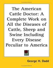 The American cattle doctor by Dadd, George H.