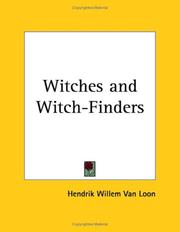 Cover of: Witches and Witch-Finders