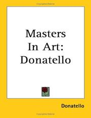 Cover of: Masters in Art