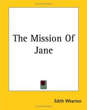 Cover of: The Mission of Jane