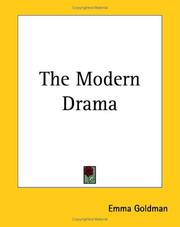 Cover of: The Modern Drama