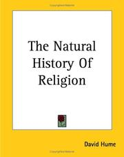 Cover of: The Natural History Of Religion