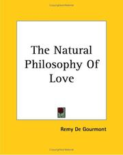 Cover of: The Natural Philosophy Of Love