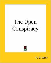 The open conspiracy by H. G. Wells