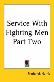 Cover of: Service With Fighting Men Part Two