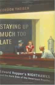 Cover of: Staying Up Much Too Late | Gordon Theisen