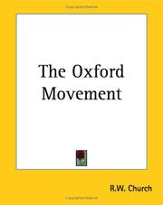 Cover of: Oxford Movement