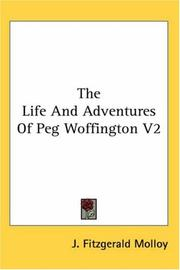 Cover of: The Life And Adventures of Peg Woffington