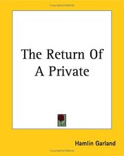 Cover of: The Return of a Private