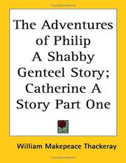 Cover of: The Adventures of Philip, a Shabby Genteel Story by William Makepeace Thackeray