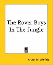 Cover of: The Rover Boys In The Jungle | Edward Stratemeyer