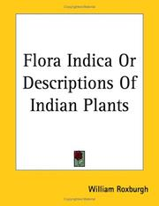 Cover of: Flora Indica or Descriptions of Indian Plants