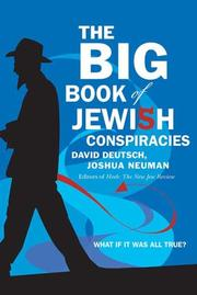 Cover of: The Big Book of Jewish Conspiracies