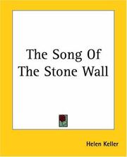 Cover of: The Song Of The Stone Wall