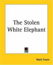 Cover of: The Stolen White Elephant
